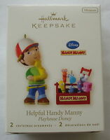 Hallmark 2008 Helpful Handy Manny Playhouse Disney Keepsake Christmas Ornament
