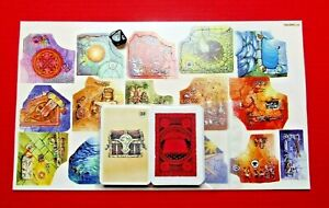 Legend of Zagor Board Game Tiles Dice & Full Set of Base Cards Replacement Cards
