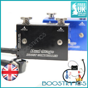 UNIVERSAL DUAL STAGE TURBO BOOST CONTROLLER - TURBO SUPERCHARGED PETROL DIESEL B