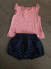 Ralph Lauren Girls Top And Shorts Set 24 Months
