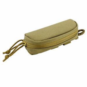 Molle Portable Glasses Box Zipper Sunglasses Bag Eyeglasses Cases Glasses Pouch