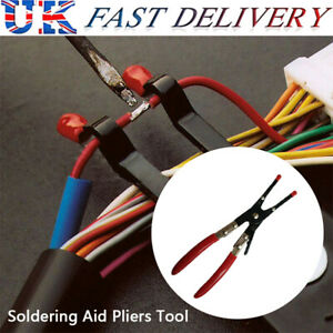 Welder Soldering Irons Soldering Aid Pliers Tool Hold 2 Wires Whilst Soldering