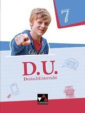 D.U. DeutschUnterricht 7 Lehrbuch Schülerbuch Schülerband NEU!!