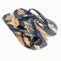 Havaianas Popeye Mens Flip Flops Sandals Size 13 Blue