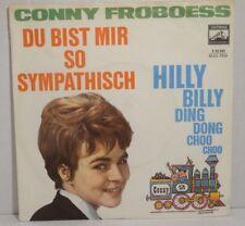 "CONNY FROBOESS - Du bist mir so sympatisch = 7"" Single, electrola 1963"