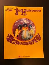 "Jimi Hendrix - ""ARE YOU EXPERIENCED"" - ,Music Book 1998?, 272 pages"