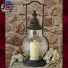 "STEEPLE LANTERN Primitive Rustic Colonial Vintage Rustic Candle Holder 21"""