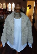 TOPSHOP shearling jacket size 12, excellent condition
