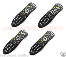 4 LOT AT&T U-Verse Digital DVR TV Television Cable Black Remote Controls S10-S3