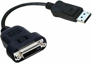HP Adapter Cable DisplayPort to DVI-D 481409-002 REV.F Digital Video Interface