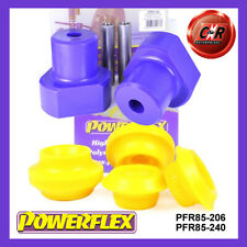 VW Golf MK3 2WD (92-98) Powerflex Rear Beam + Shock Top Mnt Bushes PFR85-206/240