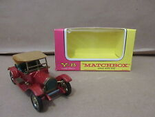 Models of Yesteryear Matchbox Y-8 1914 Stutz Model Lesney Product car automobile