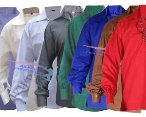 Men's Scottish Jacobite Ghillie Kilt Shirt Small To 5XL (Fast USA Seller)