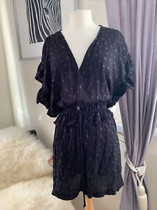 Black H&M All In One Shortie Size 16