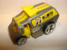 1:64 Hot Wheels Slick Rides Cool One Mooneyes Silver w/ Real Riders