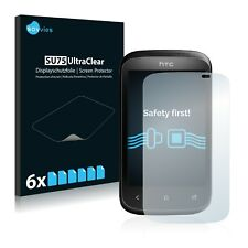 6x Savvies Screen Protector for HTC Desire C Ultra Clear