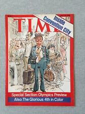 TIME MAGAZINE JULY 19, 1976 ISSUE