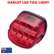 RED LED Brake License Tail Light Harley DYNA Sportster Softail XL fatboy FLSTF