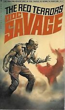 DOC SAVAGE #83: THE RED TERRORS  by Kenneth Robeson - 1st Paperback Printing
