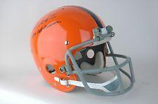 1970s Syracuse Suspension Football TK Helmet Signed Art Monk Autograph Redskins