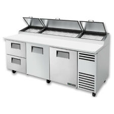 True Tpp At 93d 2 Hc 93 Pizza Prep Table Refrigerated Counter