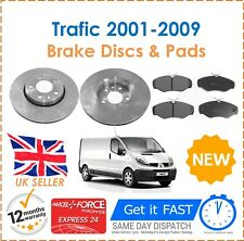 For Renault Trafic 1.9 2.0 2.5 2001-2009 Front Brake Discs & Brake Pads New