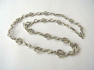 Zauberhaftes Collier Silber 835 Fantasiemuster Laurinmarke