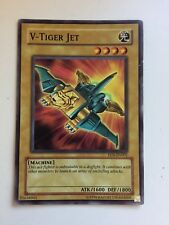 Yu Gi Oh Playing Collecting Card V-Tiger Jet EEN-EN002 BEST OFFER GETS IT UK