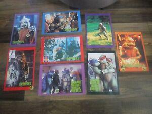 8 x Vintage Teenage Mutant Ninja Turtles / TMNT Posters - Circa 1990's