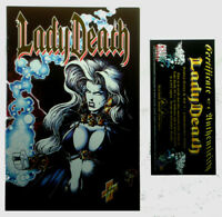MARCH 1995 LADY DEATH II BETWEEN HEAVEN & HELL #1 (COMMEMORATIVE EDITION 4,000)