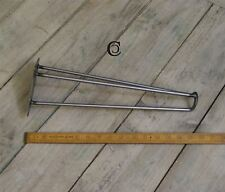 Antique Iron 3 Prong Hairpin Leg - Toe Style - 400mm