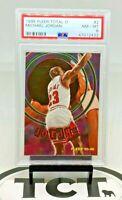 1995-96 Fleer Total O NBA Basketball Michael Jordan PSA 8 Chicago Bulls