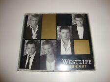 WESTLIFE - Tonight CD SINGLE Promo RADIO EDIT / METRO MIX