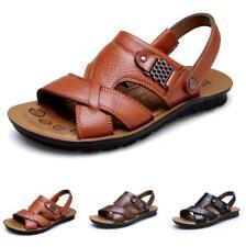 Mens Beach Slingbacks Sandals Slippers Shoes Open Toe Walking Sports Flats New B