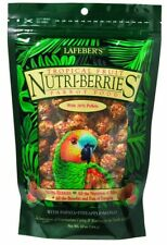 Lafeber Tropical Fruit Nutri-Berries Parrot Food 10 oz   Nutritious Foraging Fun