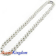 """Accents Kingdom Women's Amazing Pearl Magnetic Hematite Necklace 20"""""""