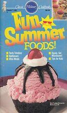 FUN SUMMER FOODS! VINTAGE PILLSBURY COOKBOOK #88 1988 STRAWBERRY BANANA SHAKE