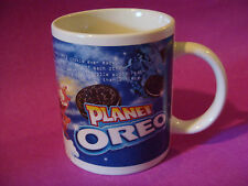 Coffee Cup Tea Mug ~*~ 9 oF 10 Households Buy NABISCO Brands Planet OREO Cookies