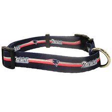 New England Patriots X Small 8 - 12 Inch Dog Collar