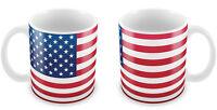 USA Flag Mug Gift Idea for Christmas Holiday Cup America Road Trip coffee 092
