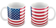 USA Flag Mug Gift Idea for Christmas Holiday Cup America Road Trip 092