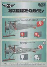 Print Scale 1/32 Nieuport N.23/N.24 Part 2 # 32005