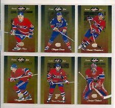 1996-97 Leaf Limited Gold Montreal Canadiens Team Set (6) Saku Koivu Etc.