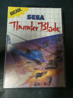 Thunder Blade - Sega Master System Complete cib - Genuine Tested