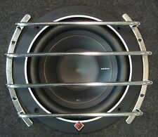"""GRILL PROTECTIVE BARS FOR 8"""" / 20cm SUBWOOFER SPEAKER, GRILE, GRIL COVER, CHROME"""