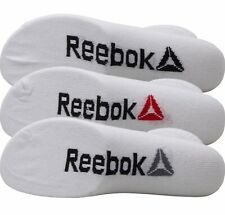 Reebok Essentials Socks Sports 3 Pack Ankle Quarter Training Size 3.5-7 UK
