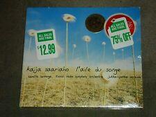 Kaija Saariaho: L'aile du songe (CD, Oct-2002, Na‹ve) sealed