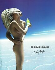 Publicité Advertising 089  2002   parfum Cologne  par Thierry Mugler