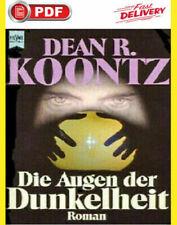 Die Augen der Dunkelheit: The Eyes of Darkness by Koontz German lang P.D.F
