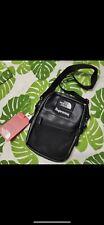 Supreme The North Face Unisex Leather Shoulder Bag Black